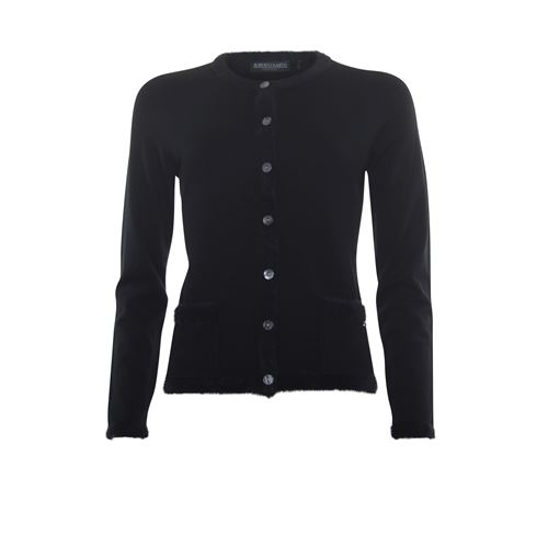 Roberto Sarto ladieswear pullovers & vests - cardigan l/s. available in size 38,40,42,44,46,48 (black)