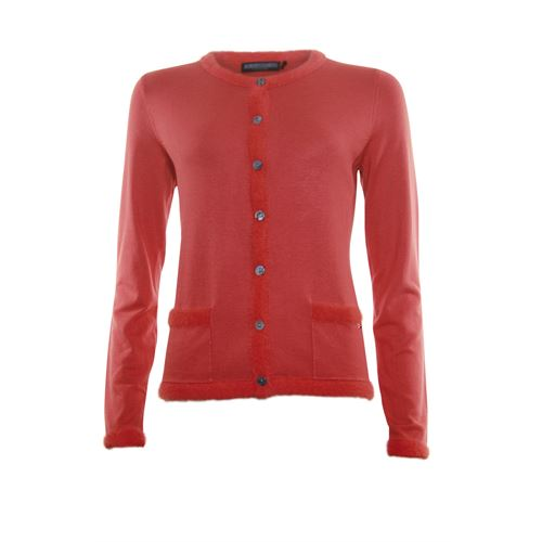 Roberto Sarto ladieswear pullovers & vests - cardigan l/s. available in size 38,40,42,44,46,48 (red)