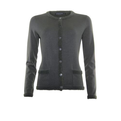Roberto Sarto ladieswear pullovers & vests - cardigan l/s. available in size 38,40,42,44,46,48 (olive)