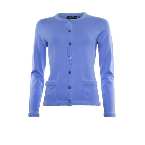 Roberto Sarto ladieswear pullovers & vests - cardigan l/s. available in size 38,40,42,44,46 (blue)