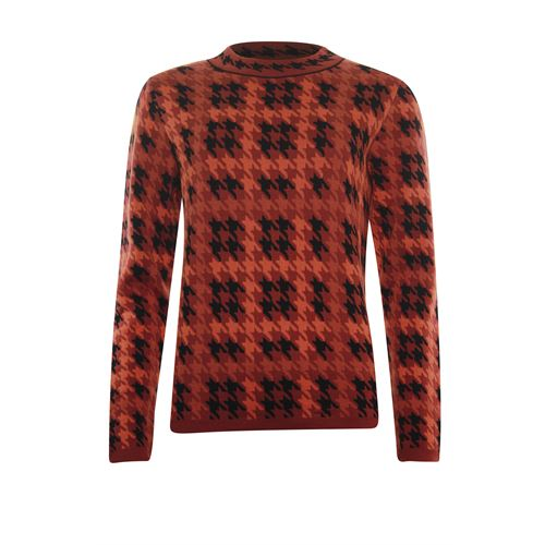 Roberto Sarto ladieswear pullovers & vests - pullover l/s. available in size 44,48 (black,multicolor,red)