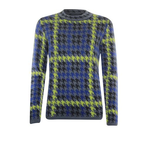 Roberto Sarto ladieswear pullovers & vests - pullover l/s. available in size 40,42,44,46,48 (blue,green,grey,multicolor)