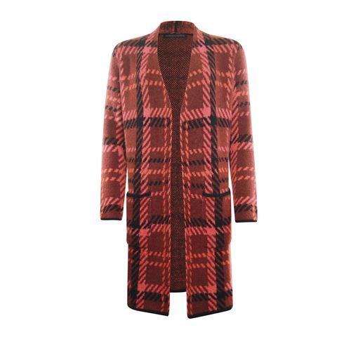 Roberto Sarto dameskleding truien & vesten - vest l/m. beschikbaar in maat 38,40,42,44,46 (multicolor,rood,zwart)