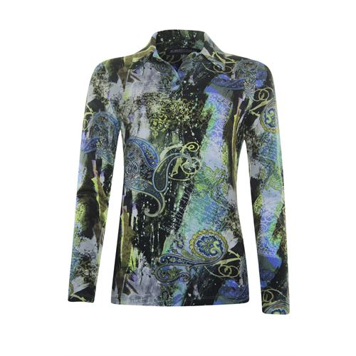 Roberto Sarto ladieswear blouses & tunics - t-shirt polo. available in size 38,40,42,44,46 (blue,green,multicolor,olive)