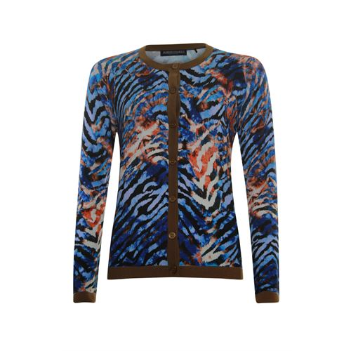 Roberto Sarto dameskleding truien & vesten - vest. beschikbaar in maat 38,40,42,44,46,48 (blauw,bruin,multicolor,rood)