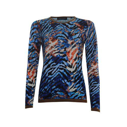 Roberto Sarto dameskleding truien & vesten - pullover. beschikbaar in maat 38,40,42,44,46,48 (blauw,bruin,multicolor,rood)