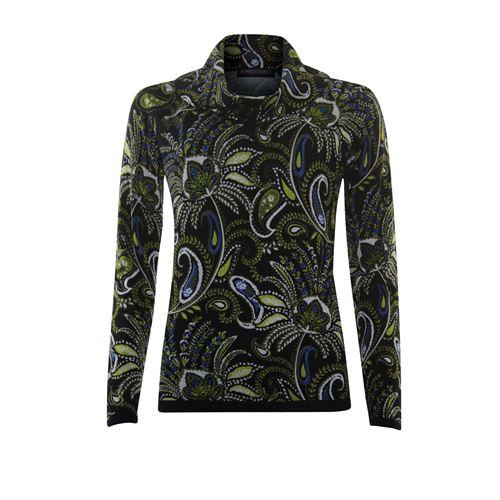 Roberto Sarto dameskleding truien & vesten - pullover l/m. beschikbaar in maat 38,40,42,44,46,48 (blauw,bruin,multicolor,olijf)