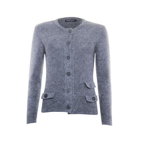 Roberto Sarto ladieswear pullovers & vests - cardigan. available in size 38,40,46 (grey)