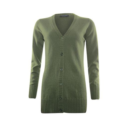 Roberto Sarto dameskleding truien & vesten - vest. beschikbaar in maat 38,40,42,44,46 (olijf)
