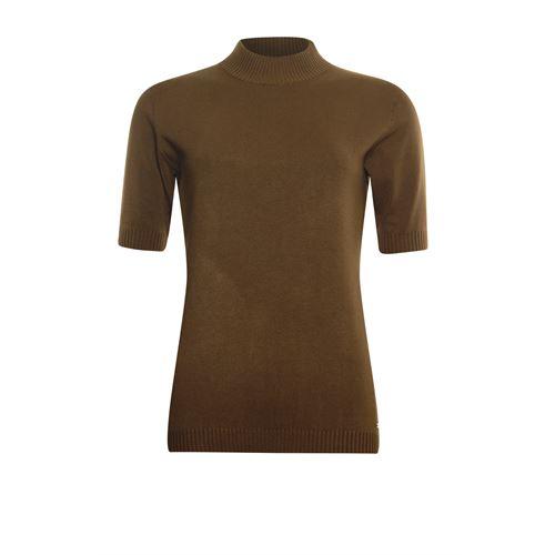 Roberto Sarto dameskleding truien & vesten - pull k/m. beschikbaar in maat 44,46,48 (bruin)