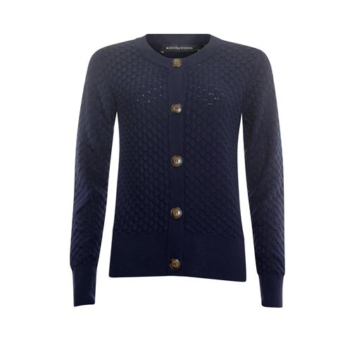 Anotherwoman ladieswear pullovers & vests - cardigan ajour. available in size 38,40,42,44 (blue)