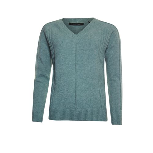 Anotherwoman ladieswear pullovers & vests - pullover v-neck. available in size 36,38,40,42,44,46 (green)