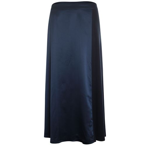 Anotherwoman ladieswear skirts - skirt satin jersey mix. available in size 36,38,40,42,44,46 (blue)