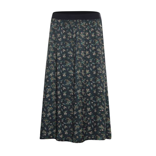Anotherwoman ladieswear skirts - midi skirt terry. available in size 38,40,42,44,46 (blue,green,multicolor,rose)