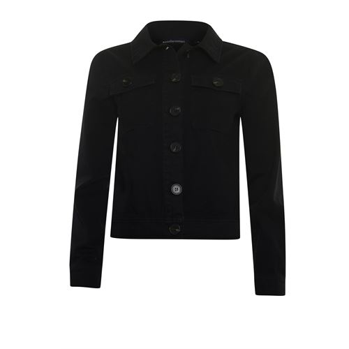 Anotherwoman ladieswear coats & jackets - twill jacket sequins detail. available in size 38,40,42,44,46 (black)