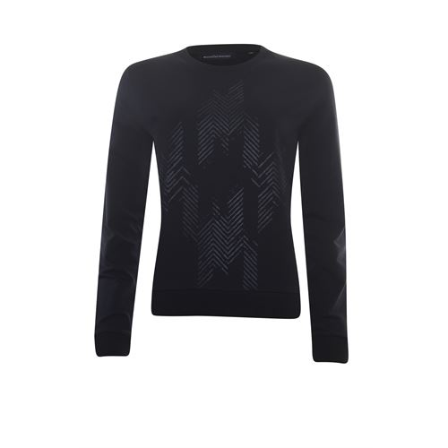 Anotherwoman ladieswear pullovers & vests - sweater foil print. available in size 38,40,42,44,46 (black)