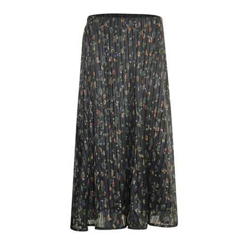 Poools ladieswear skirts - skirt print. available in size 36,38,40,42,44,46 (black,green,multicolor,red)