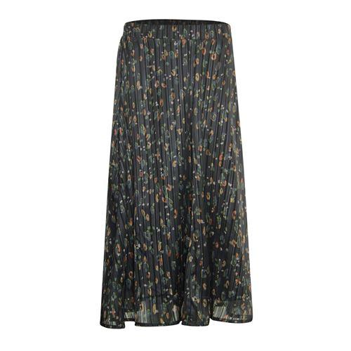 Poools dameskleding rokken - skirt print. beschikbaar in maat 36,42,44,46 (groen,multicolor,rood,zwart)