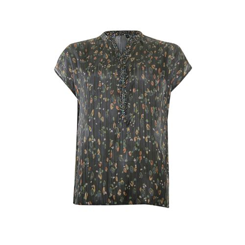 Poools ladieswear blouses & tunics - blouse print. available in size 36,38,40,42,44 (black,green,multicolor,orange)