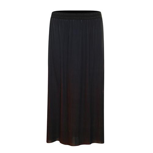 Poools dameskleding rokken - skirt ombre. beschikbaar in maat  (rood)