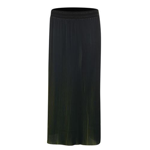 Poools dameskleding rokken - skirt ombre. beschikbaar in maat 38,40 (olijf)