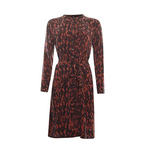 Poools ladieswear dresses - dress print. available in size 40 (black,multicolor,red)