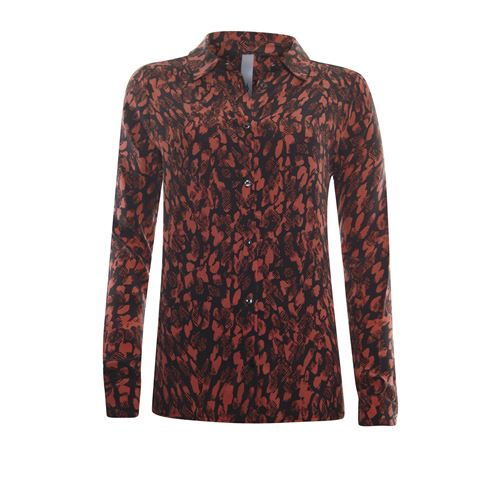 Poools ladieswear blouses & tunics - blouse printed. available in size 46 (black,multicolor,red)