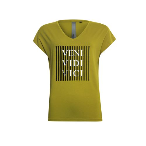 Poools ladieswear t-shirts & tops - t-shirt vici. available in size 36,38,40,42,44 (olive)