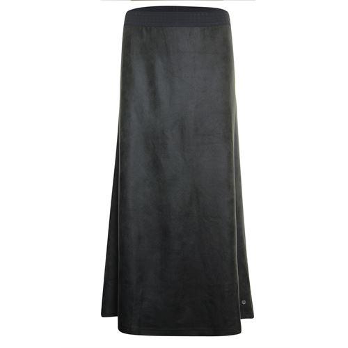 Poools dameskleding rokken - rok uni. beschikbaar in maat 42 (grijs)
