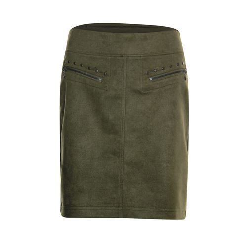 Poools ladieswear skirts - skirt zips. available in size 38,40,42,46 (olive)