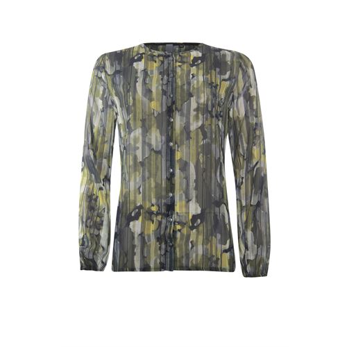 Poools ladieswear blouses & tunics - blouse woven print. available in size 36,38,40,42,44,46 (black,multicolor,olive,red)