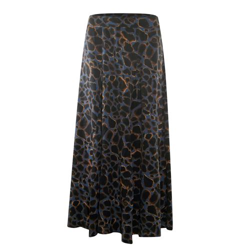 Poools ladieswear skirts - skirt cracked earth. available in size  (black,blue,brown,multicolor)