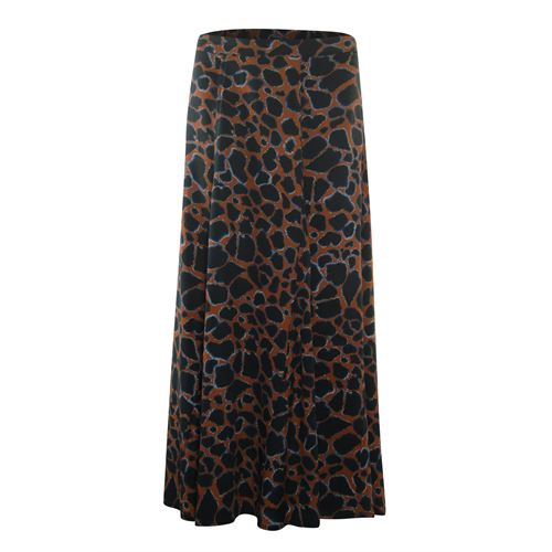 Poools ladieswear skirts - skirt cracked earth. available in size 36,38 (black,blue,brown,multicolor)