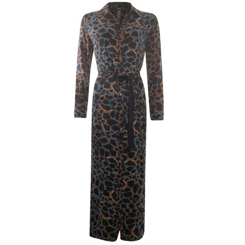 Poools ladieswear dresses - dress print mix. available in size  (black,blue,brown,multicolor)