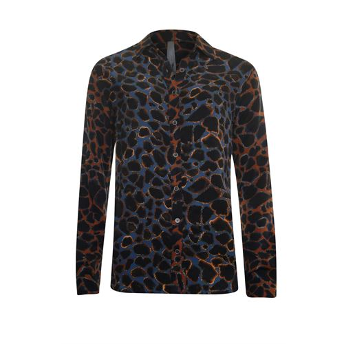 Poools ladieswear blouses & tunics - blouse print mix. available in size  (black,blue,brown,multicolor)
