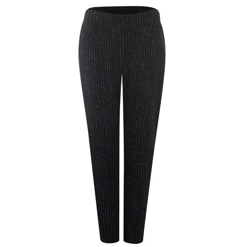 Poools ladieswear trousers - pant jacquard. available in size 46 (black)
