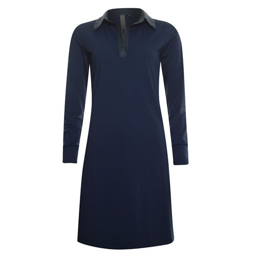 Poools ladieswear dresses - dress travel. available in size 38,40 (blue)