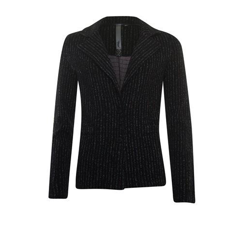 Poools ladieswear coats & jackets - jacket jacquard. available in size 36,40,44,46 (black)