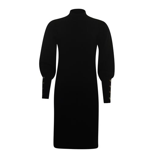 Poools ladieswear pullovers & vests - dress knitted. available in size size two (black)