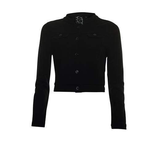 Poools dameskleding jassen & blazers - jacket short. beschikbaar in maat 38 (zwart)