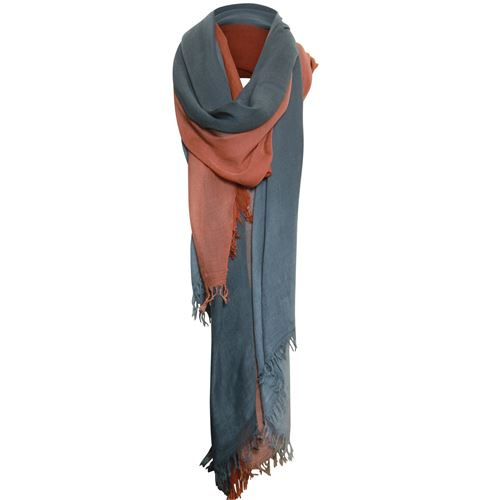 Poools ladieswear accessories - scarf ombre. available in size one size (red)