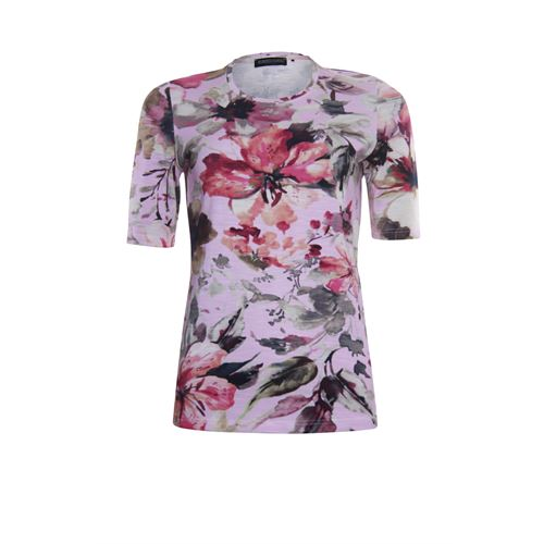Roberto Sarto ladieswear t-shirts & tops - t-shirt o-neck. available in size 38,40,42,44,46,48 (multicolor,rose)