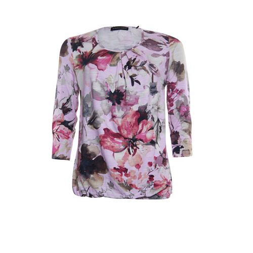 Roberto Sarto ladieswear t-shirts & tops - t-shirt three-quarter sleeve. available in size 38,40,48 (multicolor,rose)