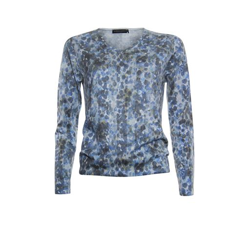 Roberto Sarto ladieswear pullovers & vests - pullover v-neck. available in size 38,42,44,46,48 (blue,brown,multicolor)