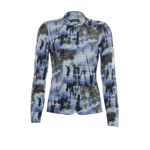 Roberto Sarto ladieswear pullovers & vests - cardigan o-neck l/s. available in size 38,40,42,44,46,48 (blue,brown,multicolor)