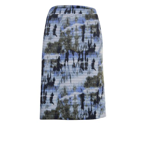 Roberto Sarto ladieswear skirts - straight  skirt. available in size 38 (blue,brown,multicolor)