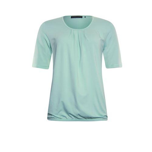 Roberto Sarto dameskleding t-shirts & tops - blouson met ronde hals. beschikbaar in maat 38,40,44,46,48 (groen)