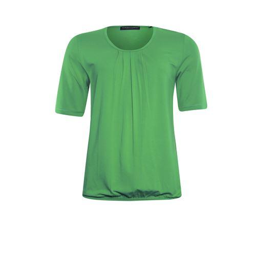Roberto Sarto dameskleding t-shirts & tops - blouson met ronde hals. beschikbaar in maat 38,40,42,44,46,48 (groen)