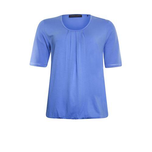 Roberto Sarto ladieswear t-shirts & tops - blouson o-neck. available in size 38,40,42,44,46,48 (blue)