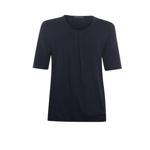 Roberto Sarto dameskleding t-shirts & tops - blouson met ronde hals. beschikbaar in maat 38,40,42,44,46,48 (blauw)
